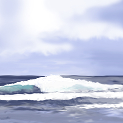 asilomar digital painting